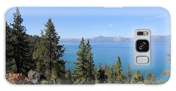 Lake Tahoe Through The Trees Galaxy Case by Jayne Wilson