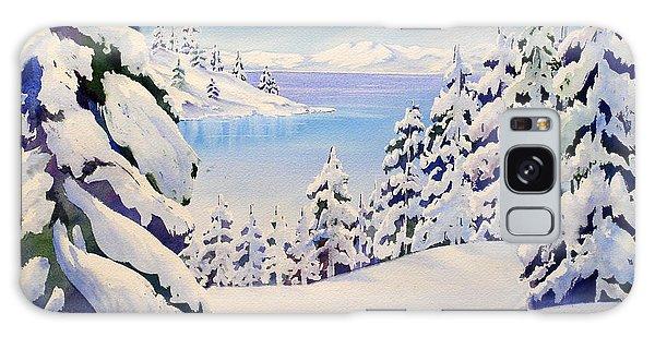 Lake Tahoe Winter Galaxy Case