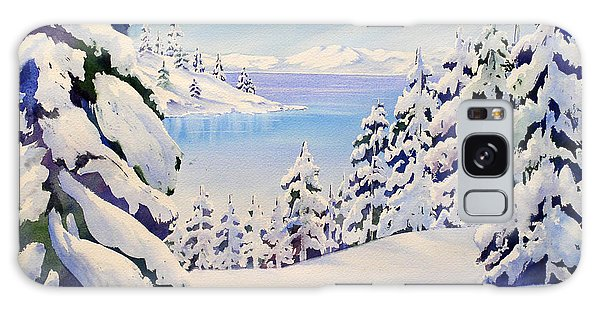 Lake Tahoe Winter Galaxy Case