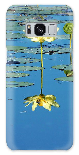 Lake Thomas Water Lily Galaxy Case
