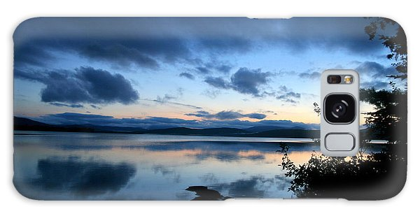 Lake Umbagog Sunset Blues No. 2 Galaxy Case by Neal Eslinger