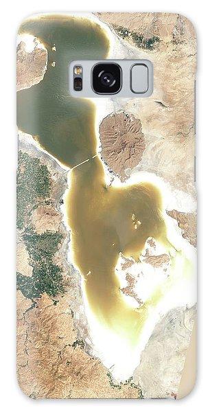 Controversial Galaxy Case - Lake Urmia by Nasa Earth Observatory
