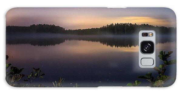 Lake View At Night Galaxy Case