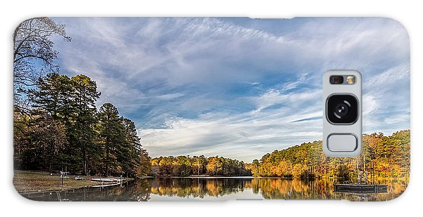 Lake View At Oconee State Park Galaxy Case