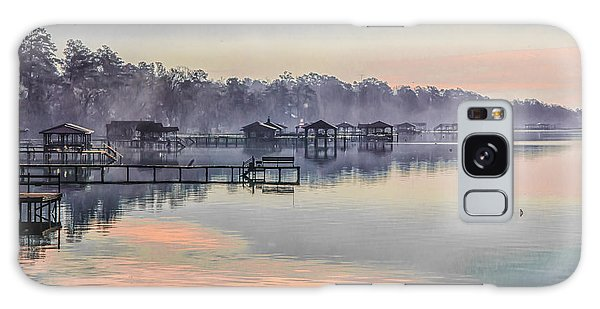 Lake Waccamaw Morning Galaxy Case