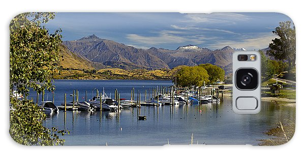 Beautiful Lake Wanaka New Zealand Galaxy Case by Venetia Featherstone-Witty