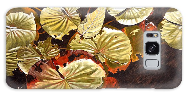Lake Washington Lily Pad 11 Galaxy Case