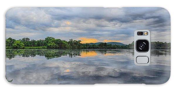 Lake Wausau Summer Sunset Panoramic Galaxy Case