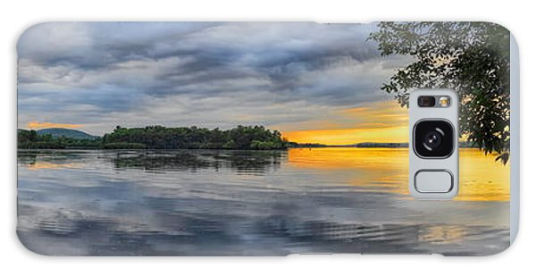 Lake Wausau Summer Sunset Panoramic Galaxy Case
