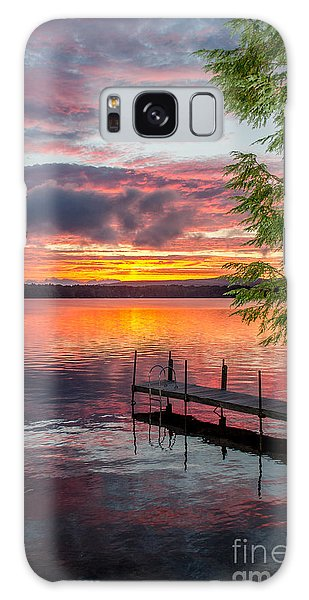 Lake Winnisquam Sunrise 2 Galaxy Case