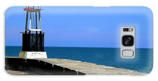 Lakefront Pier Tower Galaxy Case