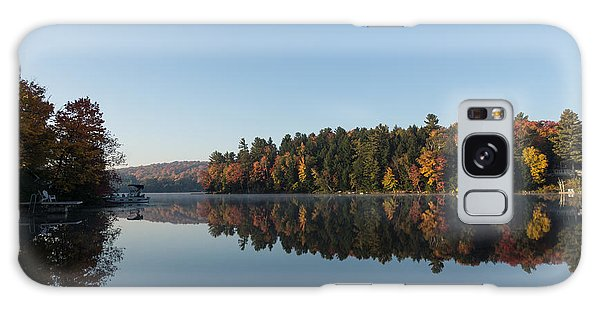 Lakeside Cottage Living - Peaceful Morning Mirror Galaxy Case
