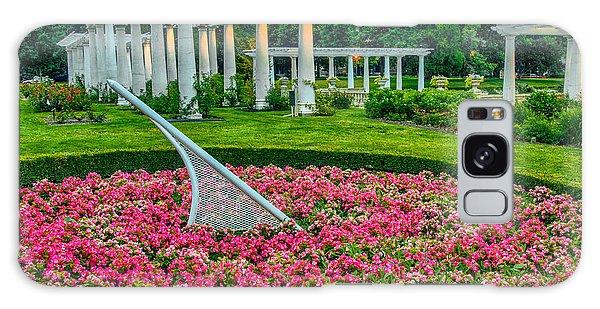 Lakeside Park Floral Gardens Galaxy Case