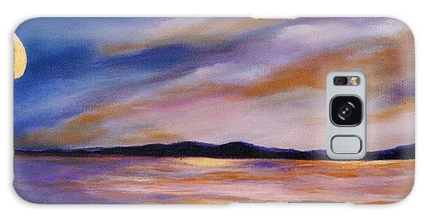Lakeside Sunset Galaxy Case by Michelle Joseph-Long