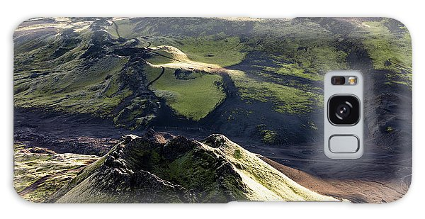 Ecosystem Galaxy Case - Laki Or Lakagigar (craters Of Laki by Tom Norring