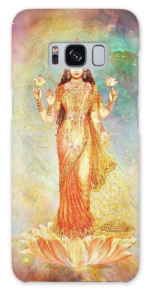 Lakshmi Floating In A Galaxy Galaxy Case