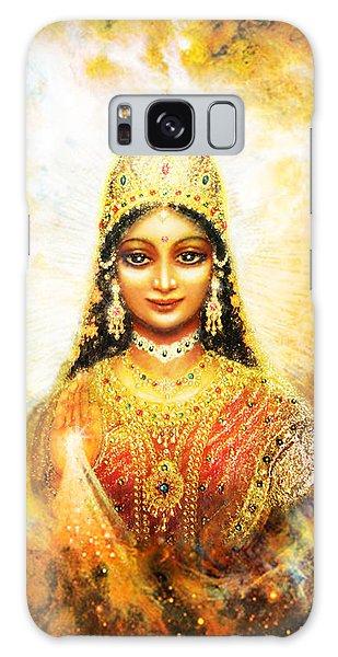 Lakshmi Goddess Of Abundance In A Galaxy Galaxy Case by Ananda Vdovic