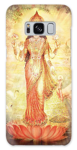 Lakshmi Goddess Of Fortune Vintage Galaxy Case