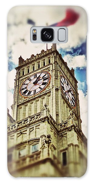 Lamar Life Clock Tower Galaxy Case