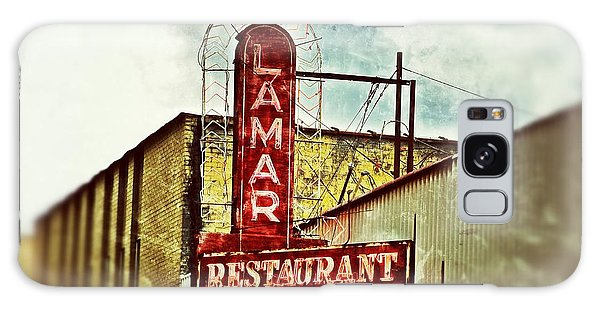 Lamar Restaurant Sign Galaxy Case