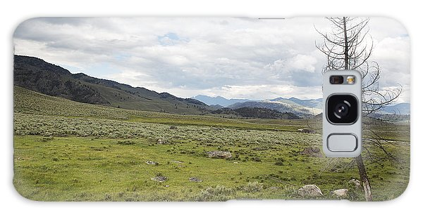 Lamar Valley No. 1 Galaxy Case by Belinda Greb