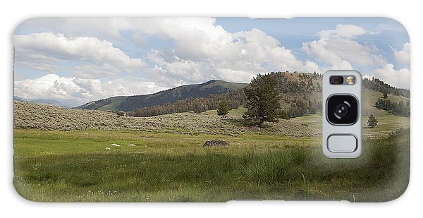 Lamar Valley No. 2 Galaxy Case by Belinda Greb