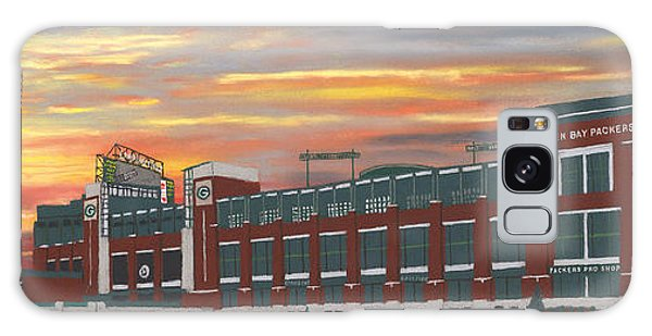 Lambeau Sunset Galaxy Case