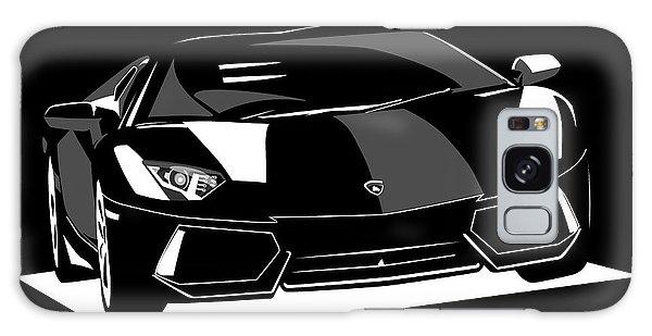 Sport Car Galaxy Case - Lamborghini Aventador by Michael Tompsett