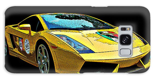Lamborghini Gallardo 3/4 Front View Galaxy Case