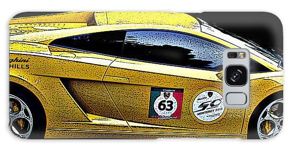 Lamborghini Gallardo Side Study Galaxy Case