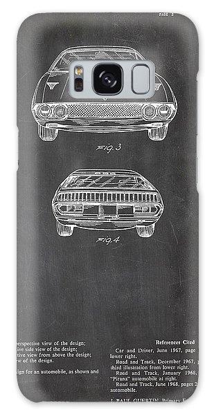 Lamborghini Patent Drawing Galaxy Case by Art Photography