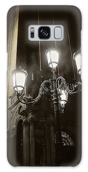 Lamp Light St Mark's Square Galaxy Case