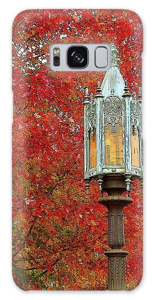 Lamp Post In Fall Galaxy Case