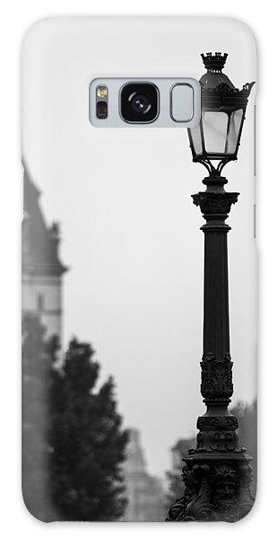 Lamppost At Pont Neuf Paris Galaxy Case