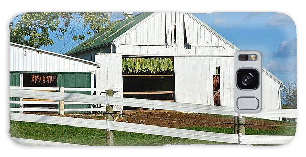 Lancaster County Tobacco Barn Galaxy Case