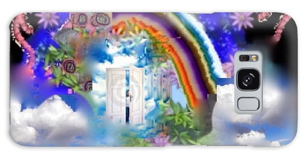 Land Of Dreams Galaxy Case by Diana Riukas