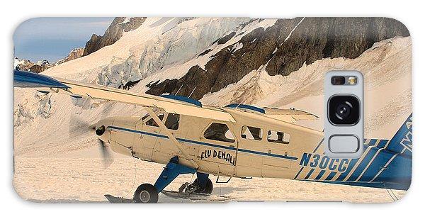 Landing On An Alaskan Mountain Galaxy Case by Ronald Olivier