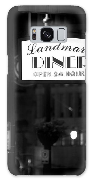 Landmark Diner Galaxy Case by Mark Andrew Thomas