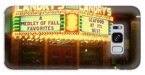 Landry's Seafood In Lomoish Galaxy Case by Kelly Awad