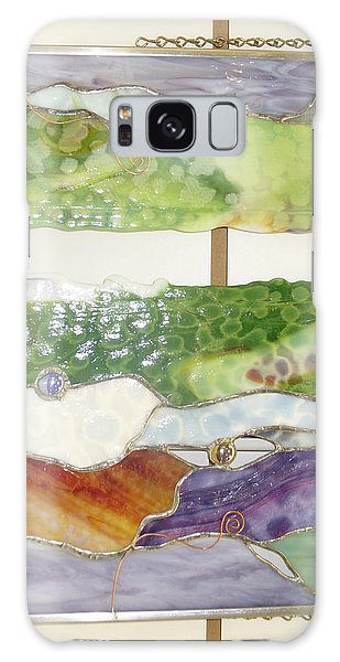 Landscape 2 Galaxy Case by Karin Thue