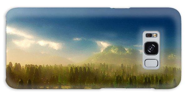Landscape Dreams... Galaxy Case by Tim Fillingim