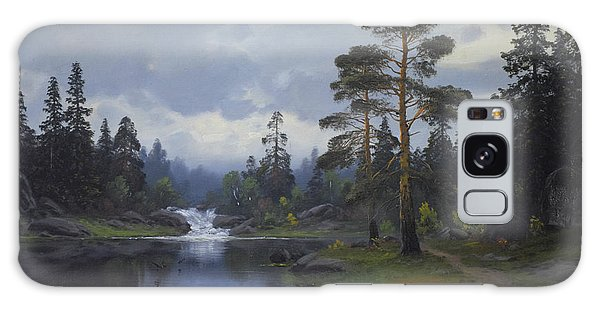Landscape From Norway Galaxy Case