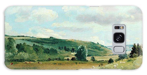 Pasture Galaxy Case - Landscape Summer Landscape Near Dedham, Lionel Constable by Litz Collection