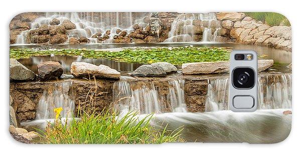 Landscape Waterfall Galaxy Case