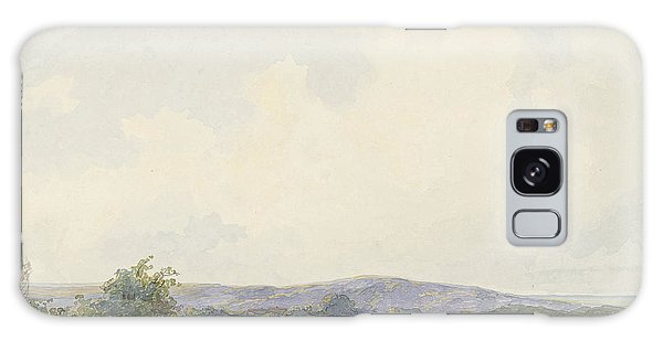 Pasture Galaxy Case - Landscape With Pastures, To The Dunes, Frans Arnold by Quint Lox