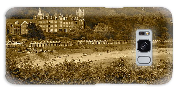 Langland Bay Gower Wales Galaxy Case