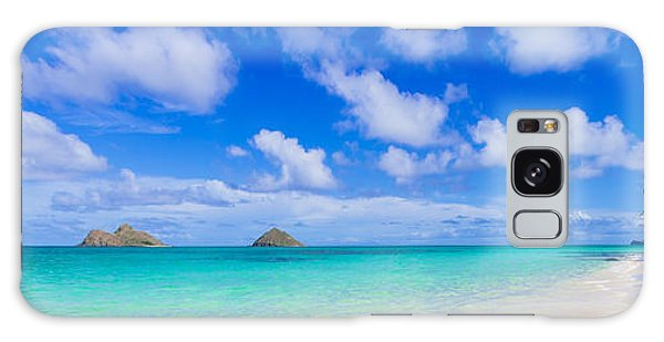 Lanikai Beach Tranquility 3 To 1 Aspect Ratio Galaxy Case by Aloha Art