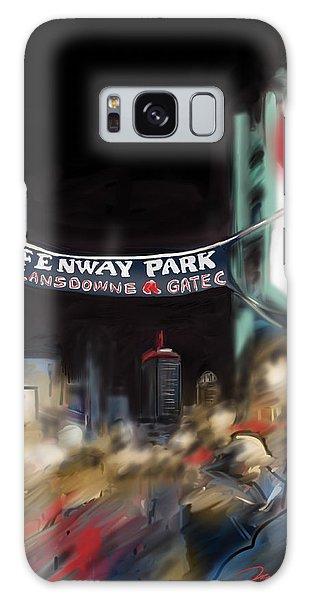 Lansdowne Street Galaxy Case by Jean Pacheco Ravinski