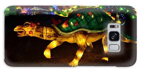 Lantern Dinosaur Galaxy Case