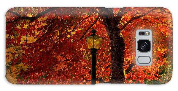 Lantern In Autumn Galaxy Case